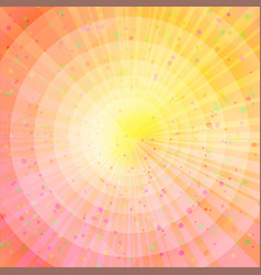 Background abstract orange and yellow vector