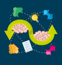 Brain inspired in big ideas and knowledge vector