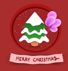 ChristmasTree X vector image
