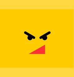 emoji smile icon symbol on yellow background vector image