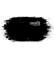 grunge painting ink color and chalkboard vector image