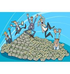 Successful Businessmen vector image vector image