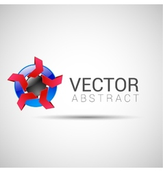 Abstract shape eps10 design color abstract vector image
