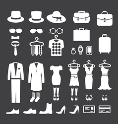 Clothing Store shopping Icon vector image