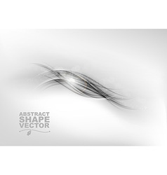 abstract grey center text vector image