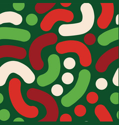 christmas abstract handdrawn background vector image