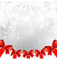 Christmas shiny background with gift boxes vector image