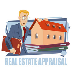 Construction industry real estate appraisal vector