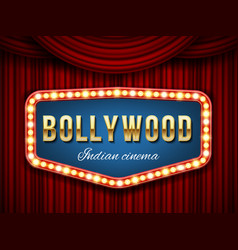 creative of bollywood cinema vector image