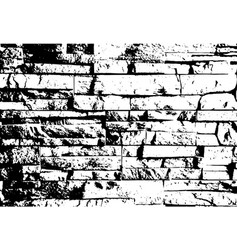 grunge brick wall texture and background vector image