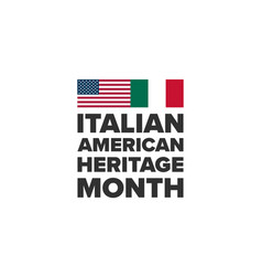 heritage month holiday concept vector image