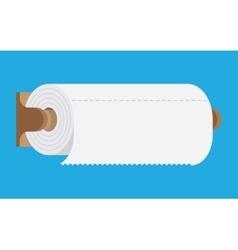 kitchen paper towel vector image