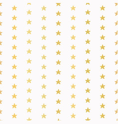 luxe gold tiny christmas stars confetti drawn vector image