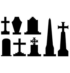 Set of different tombstones vector