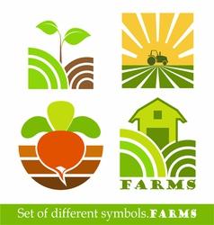 symbols Farm vector image