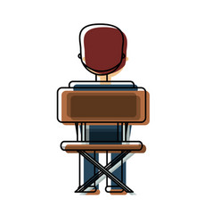 boy student vector image vector image
