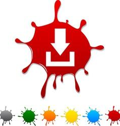Download blot vector image