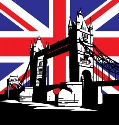 London bridge vector image