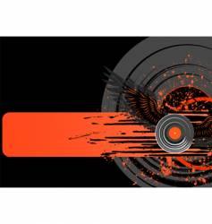 vinyl grunge vector image