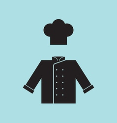Chef Hat and Shirt vector image