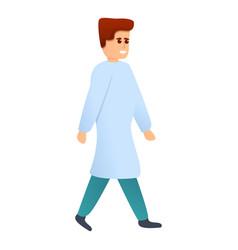 chiropractor doctor icon cartoon style vector image