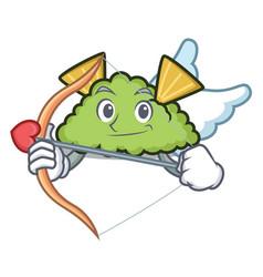 Cupid guacamole character cartoon style vector