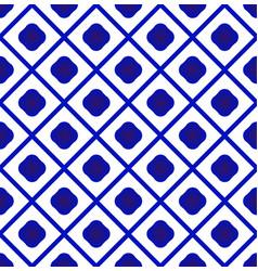 Cute porcelain ceramic pattern vector