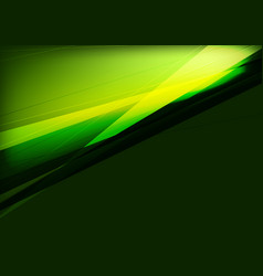 Dark green and black abstraction design with vector