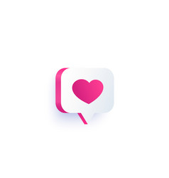 Dating logo for apps vector