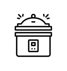 Instant pot pressure cooker vector