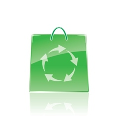 bag for shopping vector image vector image