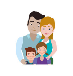 couples relationship family children vector image