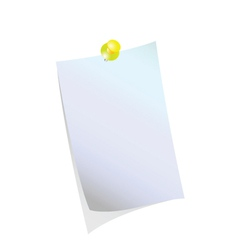 reminder blank vector image