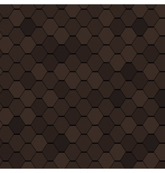 Clay Roof Tiles Seamless Texture vector image vector image