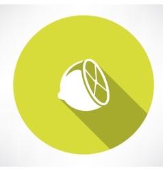 Lemon icon vector image
