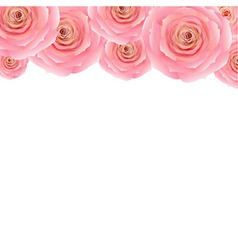 Pastel Pink Rose vector image vector image