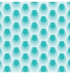Repetition fish skin Abstract stylish background vector image vector image
