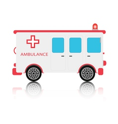 Ambulance vector image