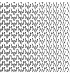 braided seamless pattern vector image