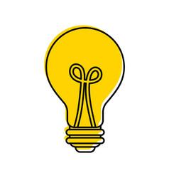 bulb light idea creativity innovation business vector image