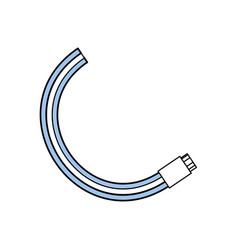 computer wire technology vector image