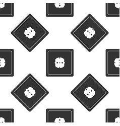 electrical outlet icon seamless pattern vector image