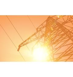 Electrical Transmission Line vector