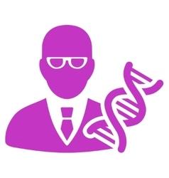 Genetic Engineer Icon vector