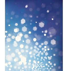 glitter blue background vector image