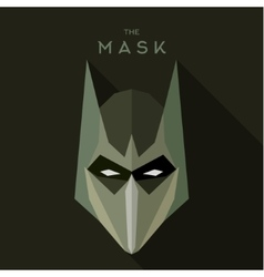 Mask suit for alien robot villain in quality vector