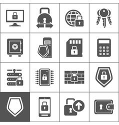 Protection an icon vector image vector image