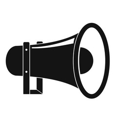 sound of megaphone icon simple style vector image