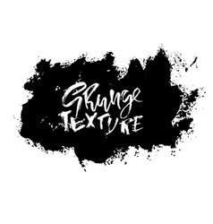 Splash stains texture banners black and white vector