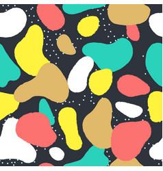 trendy seamless pattern vector image